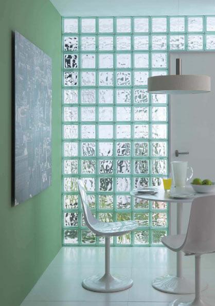 Bloques de vidrio para tu hogar tienda de materiales para la construcci n expertos en azulejo - Bloques de vidrio para bano ...